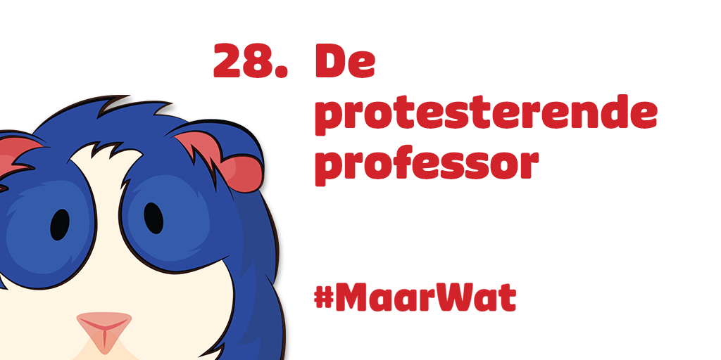 28 de protesterende professor