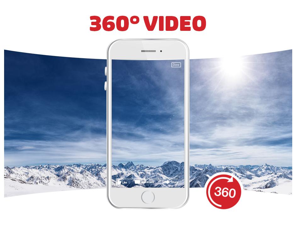 360 graden video op social media