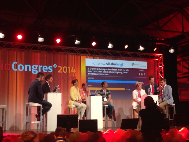 KNGF Panel Discussie hybride congres 2014