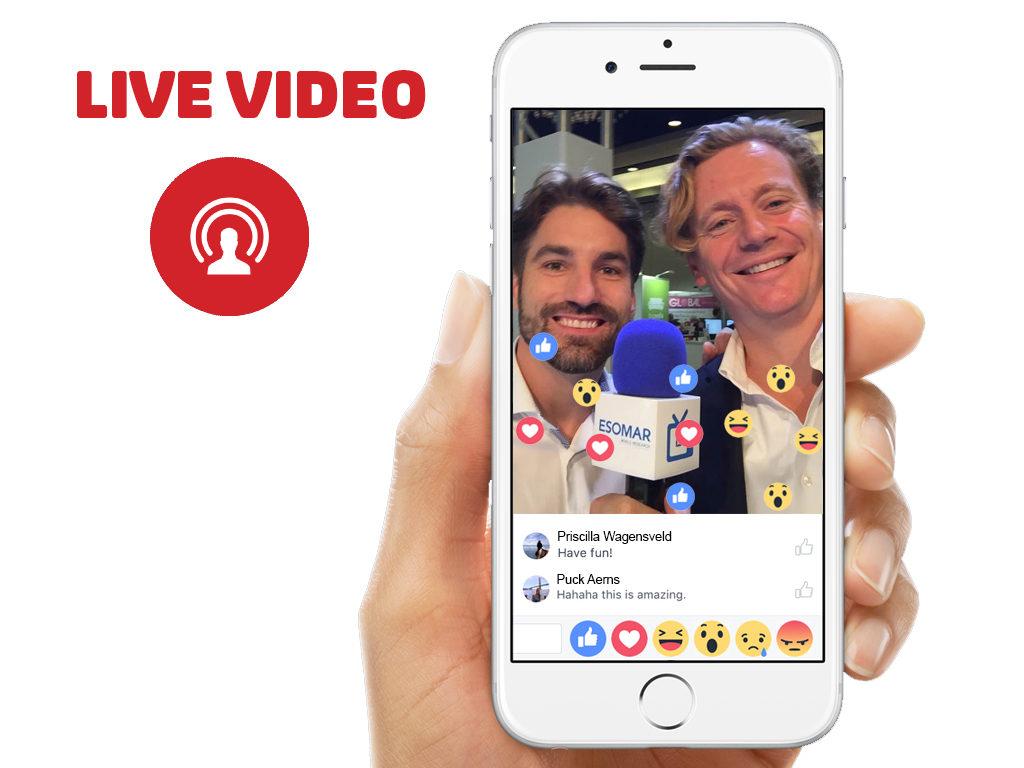 Live video op social media