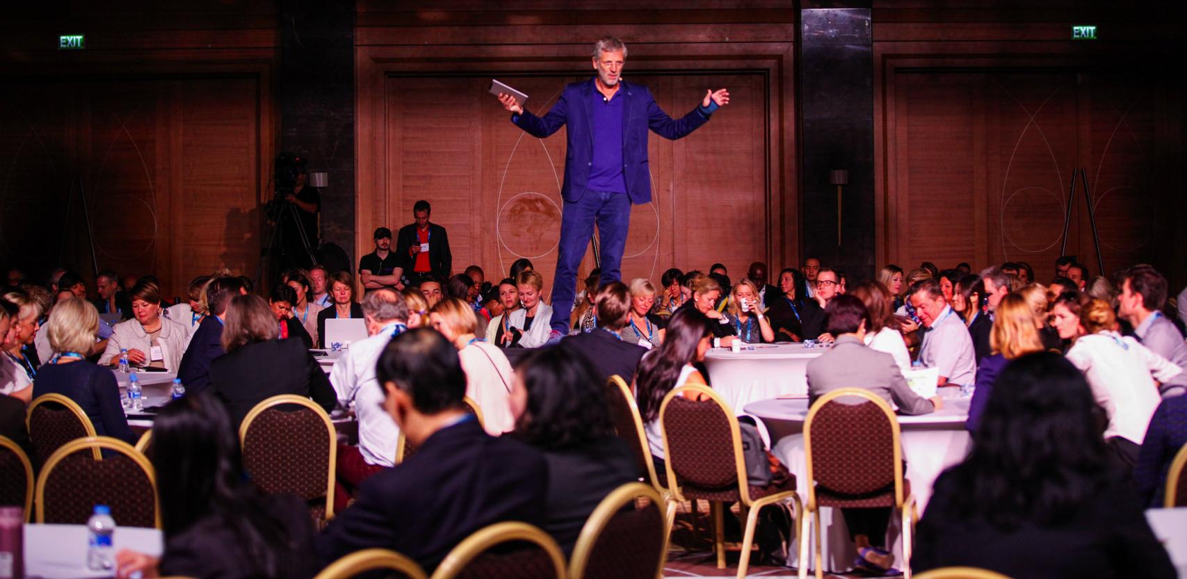 Meeting Design potentieel van het publiek