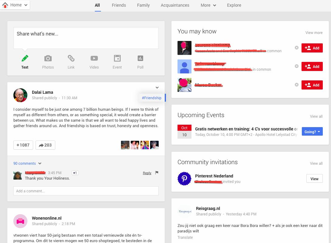 Preview Google+ spreker Gerrit Heijkoop